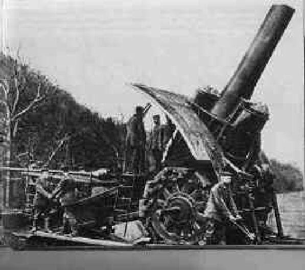 """420mm Seige Howitzer """"Big Bertha"""""""