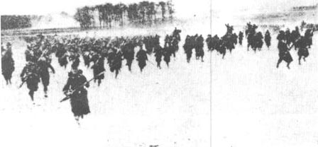 Plan XVII in Action:  A French Bayonet Charge