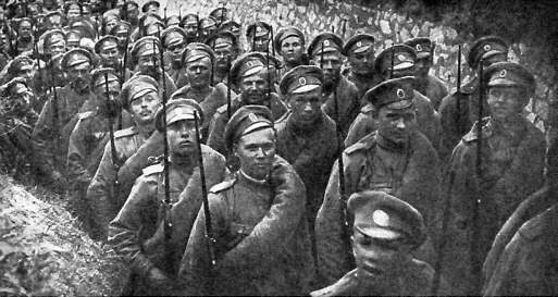 Russian troops Mobilize for War