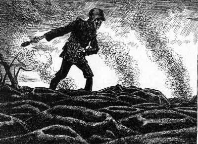 "Political Cartoon ""The Sower"""